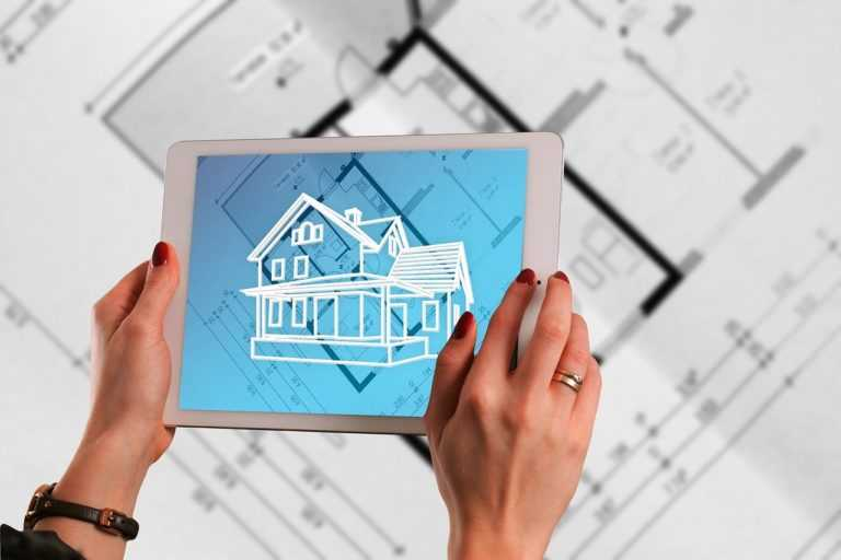 augmented reality, tablet, building plan